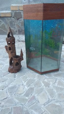 Аквариум с домиком