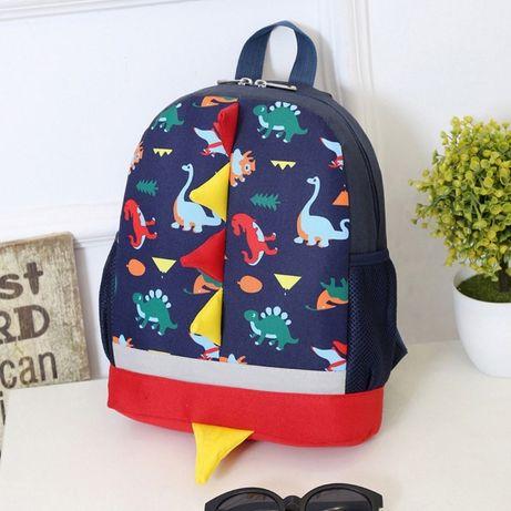 Рюкзак детский. Динозавр. Для девочки и мальчика. Различные цвета.