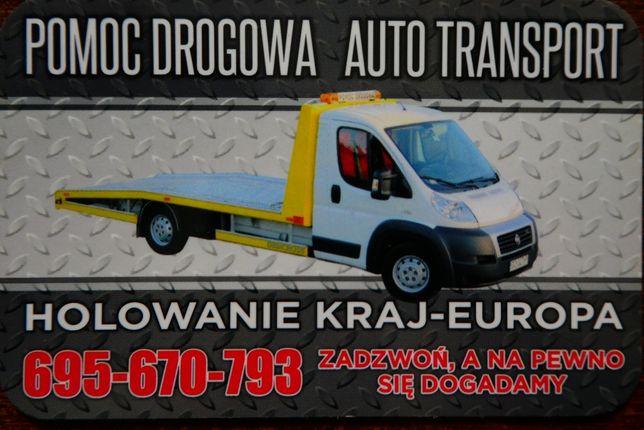 Pomoc Drogowa Auto Holowanie Transport Laweta Bydgoszcz Europa