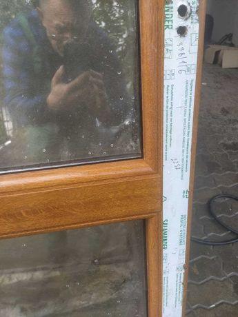 Продам металопластикові двері з коробкою