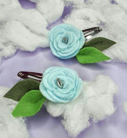 Заколки для волос для девочек ручной работы