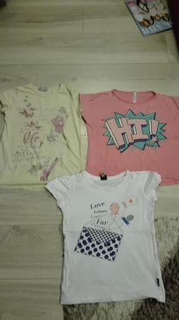 bluzeczki roz.134-140