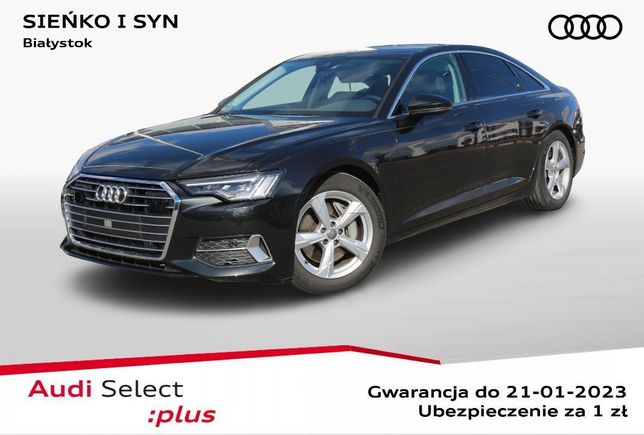Audi A6 3.0 Quattro, LED, Webasto, Virtual Cocpit, Asystenci ruchu