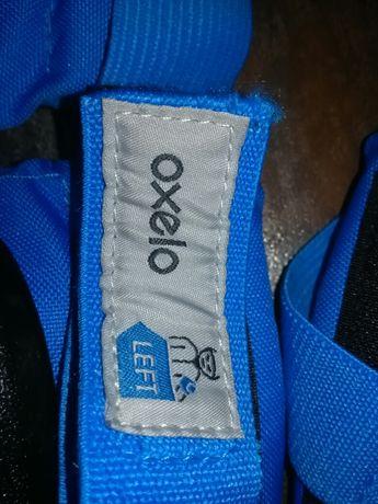 Ochraniacze Oxelo Basic z Decathlon