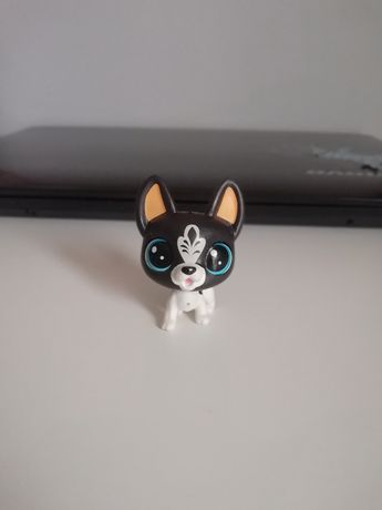 Figurka LPS Littlest Pet Shop pies stan idealny