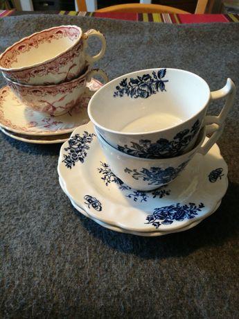 Filiżanki do herbaty, kolekcje