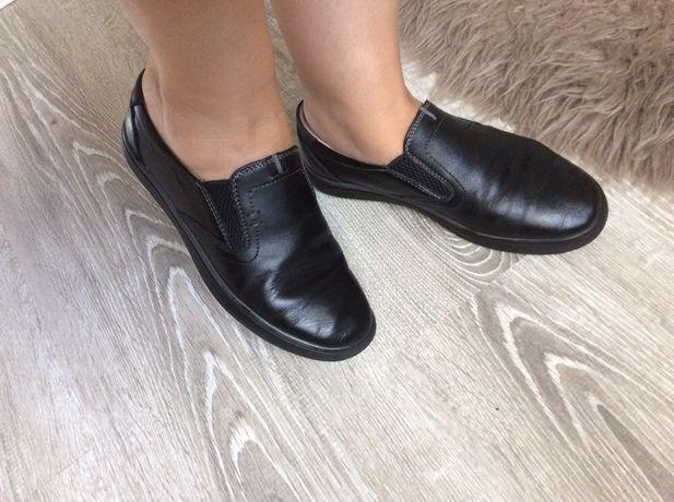 Туфли мокасины Кожа 34 разм