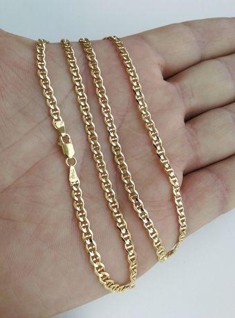 Złoty łańcuszek 585. NOWY. 11,69 gr. 55 cm.