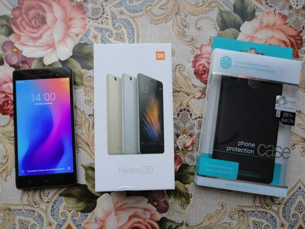 Xiaomi Redmi 3S Prime 3/32GB Grey + Новый пластиковый чехол Nillkin