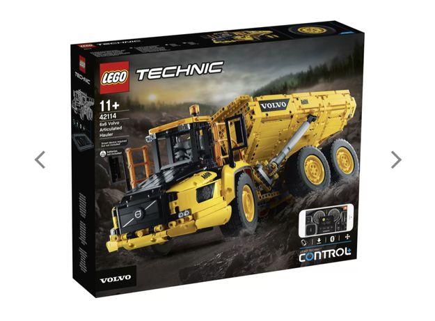 конструктор LEGO Technic Сочлененный самосвал 6x6 Volvo (42114)