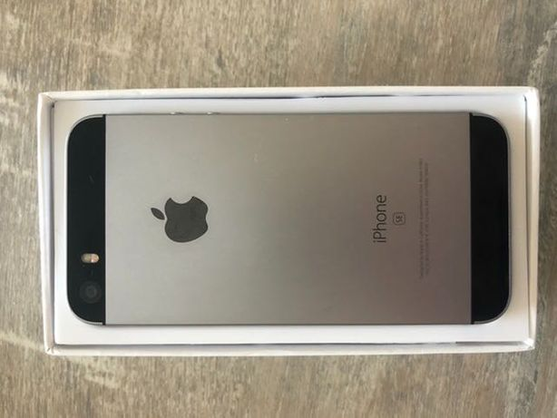 iPhone SE Space gray 32gb