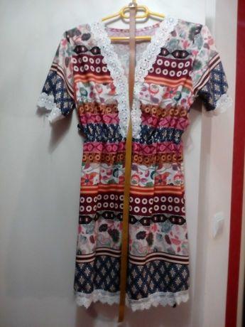 Sukienka damska  we wzory