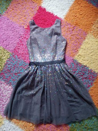 Платье, фирма H&M, на 13-14 лет, рост 164 см