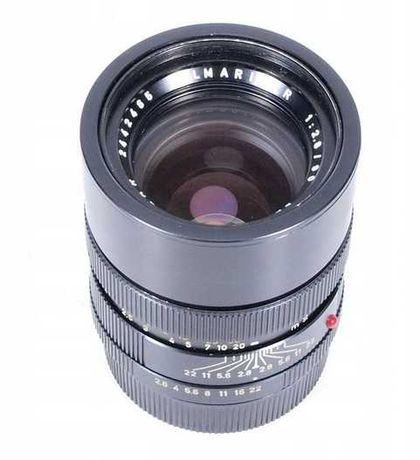 Obiektyw Leica ELMARIT-R 90mm f/2.8 + filtr seria VII + pierścień
