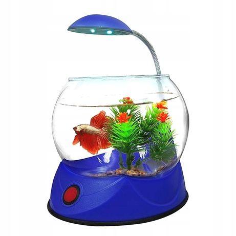Akwarium kula z podświetleniem HAILEA V1 2,5L