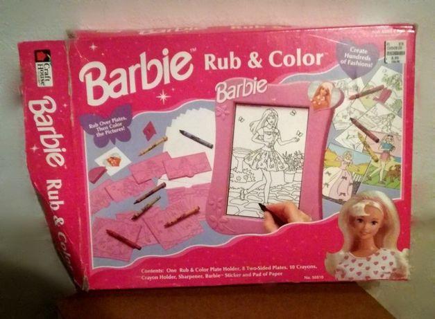 BARBIE___Rub & Color z USA