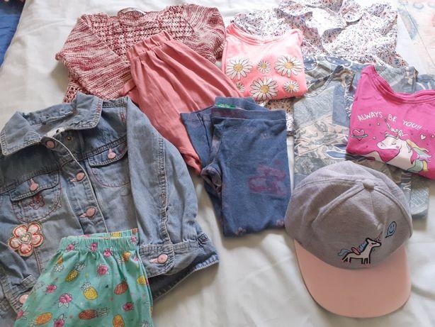 10 peças de roupa menina tm 3/4 Anos  várias marcas.