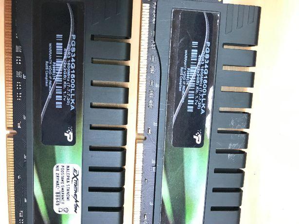 Pamięć RAM Patriot DDR3 4GB (2x2GB) 1600MHz (PGS34G1600LLKA)