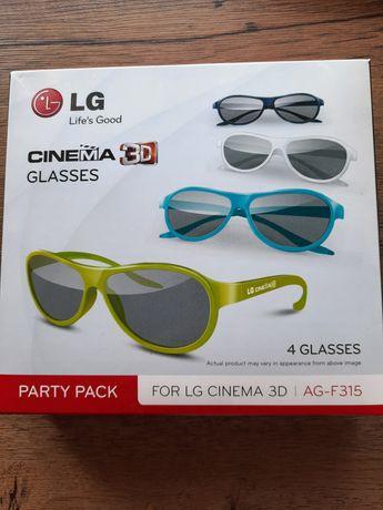 Okulary LG 3d glasses
