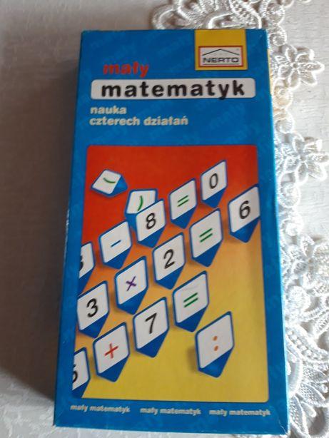 Gra planszowa mały matematyk