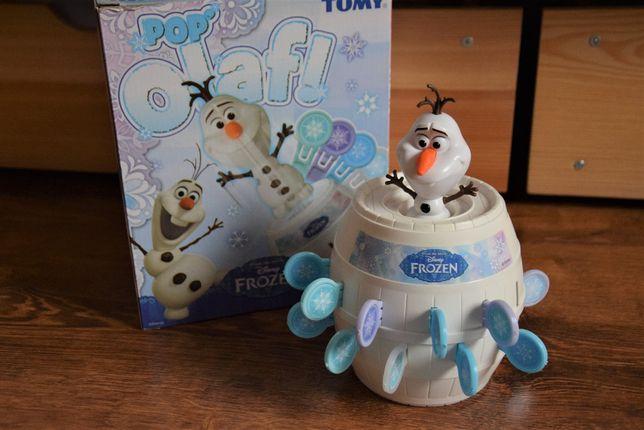 Gra Beczka Olafa Tomy Disney Kraina Lodu