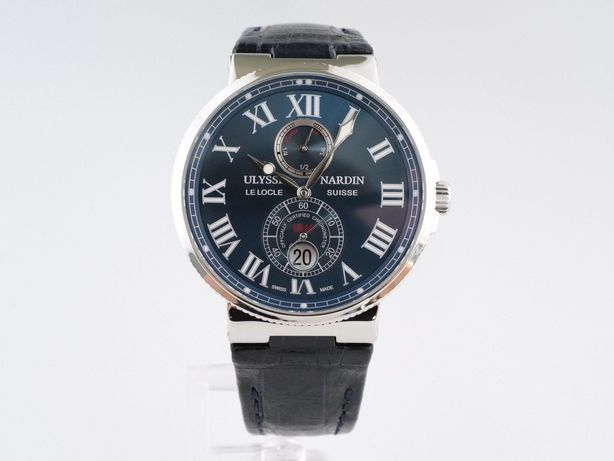 Мужские бу часы Ulysse Nardin Maxi Marine Chronometer 43 мм