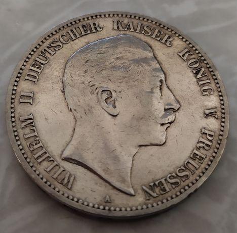 Німеччина 5 марок 1903 року срібло