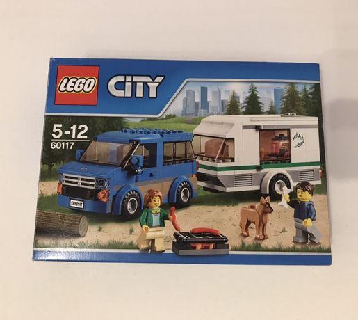 Lego city 60117 Van z przyczepą kampingową