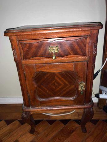Mesa cabeceira vintage