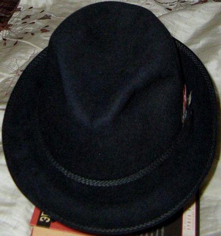 Мужская шляпа фетр федора Wilke Германия 60 размер