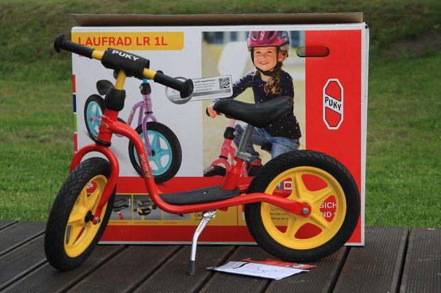 Rowerek biegowy PUKY LR 1L czerwono-żółty