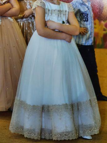 Шикарное платье на выпускной, свадьбу, торжество. Рост 116