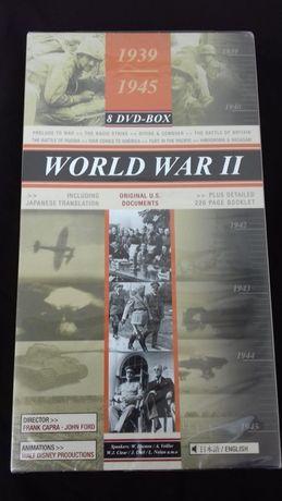 World War II - 1939/1945 - 8 DVDs box