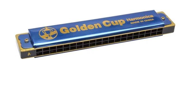 Golden Cup JH 020-1 Blue- HARMONIJKA Tonacja A