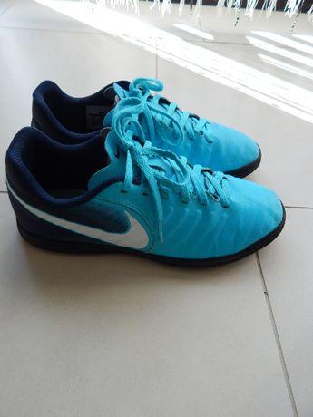 Nike Junior Tiempox Rio IV IC Blue Gamma 23,5cm Oryginalne