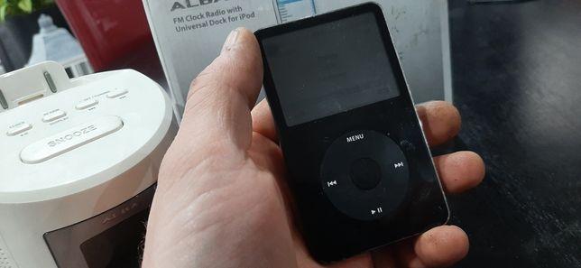 Apple Ipod 5 generacji  80 Gb, Iphone,plus stacja dokująca z radiem