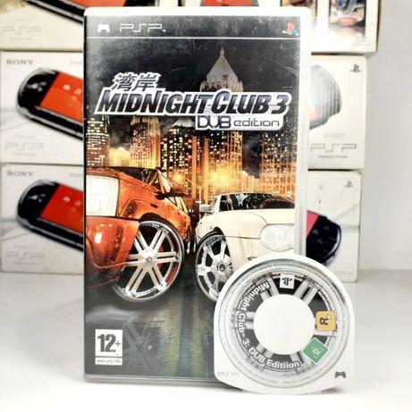 MIDNIGHT CLUB 3: DUB edition sony psp świetne wyścigi #102