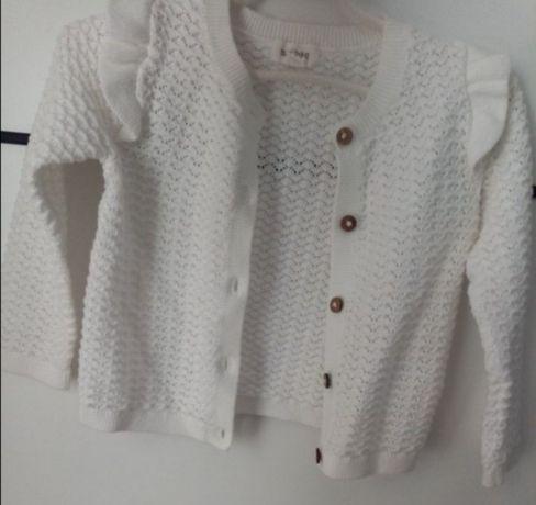 Sweterek i kombinezon dzianinowy newbie