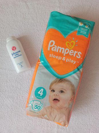 Подгузники Памперс. Pampers sleep & play, 4