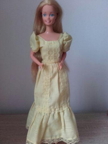 Sukienka dla Barbie Magic curl