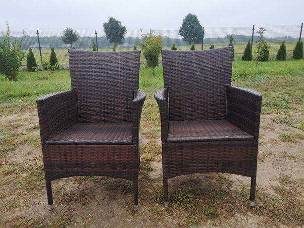 2 fotele z Technorattanu
