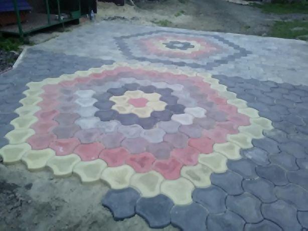 Бруківка тротуарна плитка від виробника