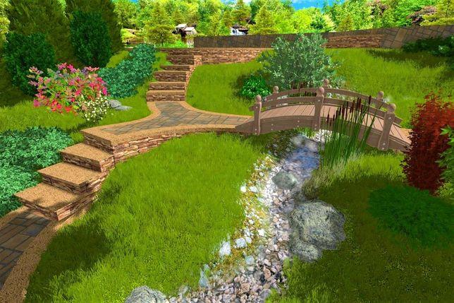 Jardineiro Desenvolvimento de design