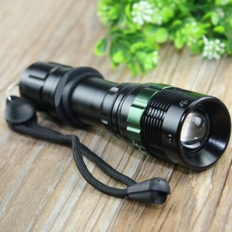Тактический фонарь POLICE BL 8455 Q5 50000W фонарик 500 Lumen