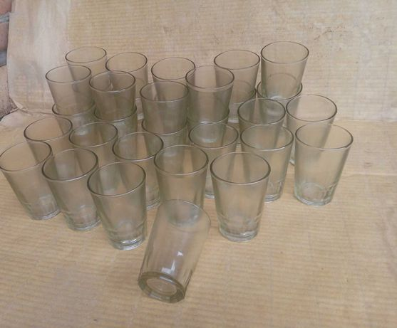 Новые СССР 32 шт стакан граненый 200мл завод 200 грамм посуда столовая