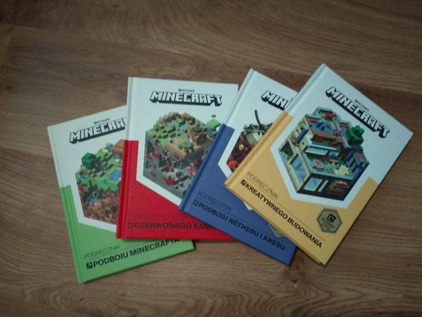 Minecraft, seria 4 książek