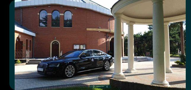 Auto do ślubu  Audi A8 long do ślubu 600 Mam wolne terminy:-)