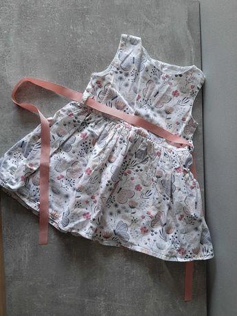 ładna sukienka r. 100