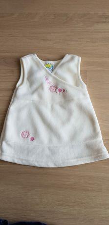 Sukienka na wiek 0-3 miesiące.