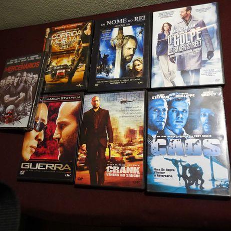 Jason Statham-Lote de filmes--3 euros cada DVD